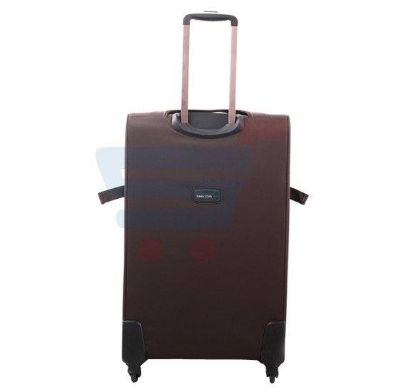 Para John 28 Inch Trolley Luggage, Coffee- PJTR3040