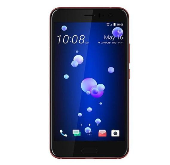 HTC U 11 Dual SIM - 128GB, 6GB RAM, 4G LTE, Solar Red
