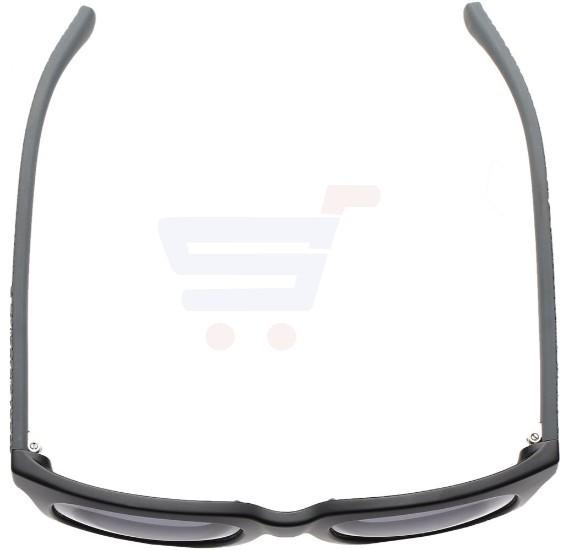 Calvin Klein Rectangular Matte Black Frame & Black Mirrored Sunglasses For Men - CKJ787S-002