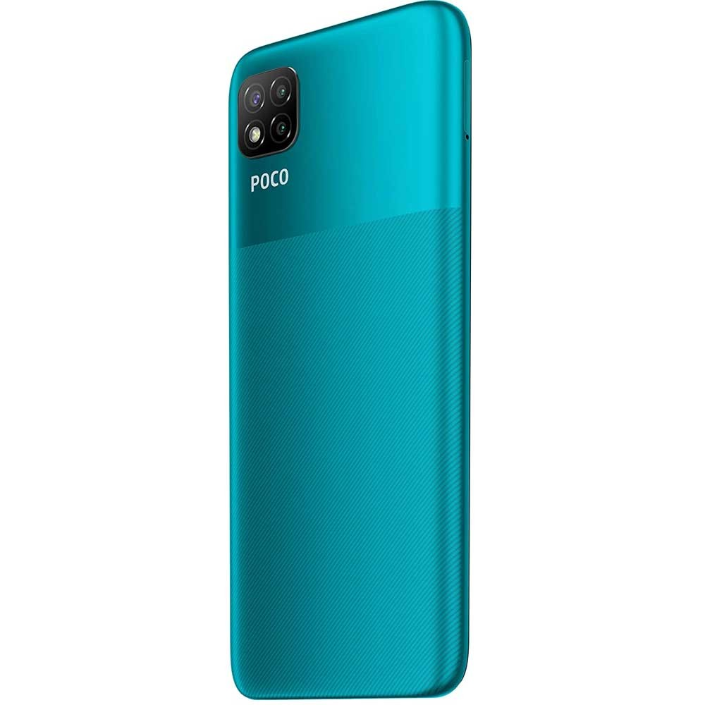 Xiaomi Poco C3 Dual SIM, 4GB RAM 64GB Storage 4G LTE, Lime Green