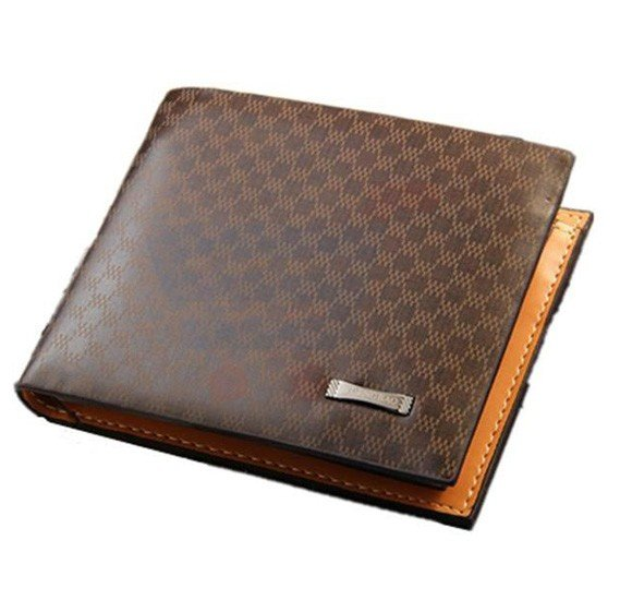 Pidengbao Fashion Business style Genuine Leather Wallet For Men