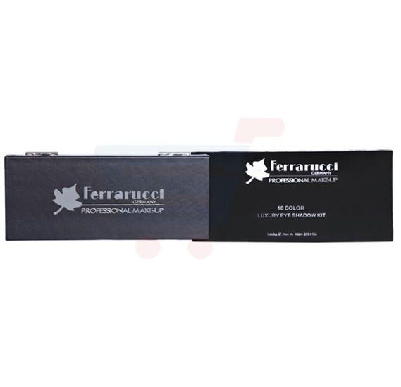 Ferrarucci 10 Color Luxury Eye Shadow Kit 60g, LE002