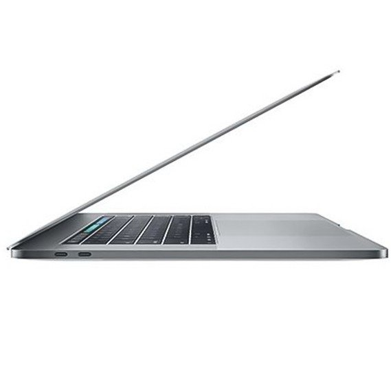 Apple MacBook Pro Space Grey i7 2.8 Quad Core 16GB 256GB Radeon PRO 555 with 2GB TB & ID 15 Inch - English / Arabic,MPTR2 AB/A