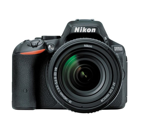 Nikon D5500 Camera DSLR 18-140mm Lens, Black