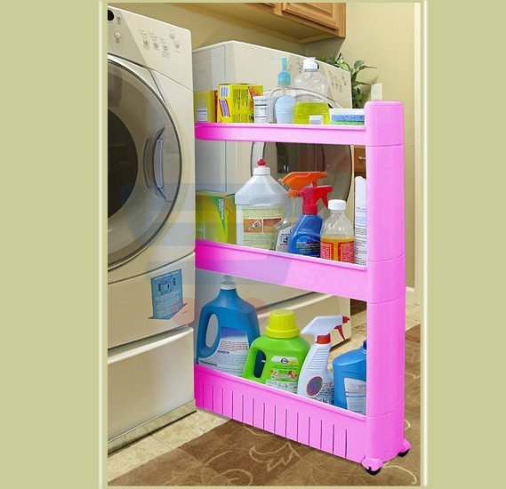 Buy Slim Pantry Cabinet Beside Fridge Spice Rack Online Dubai Uae 7618