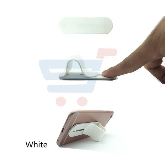 Multi Band Universal Phone Stand, Self Standing Finger Grip For Smartphone