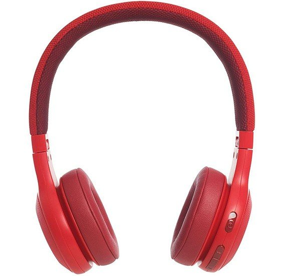 JBL Over-Ear Bluetooth Stereo Wireless Headphone - E45BT Red