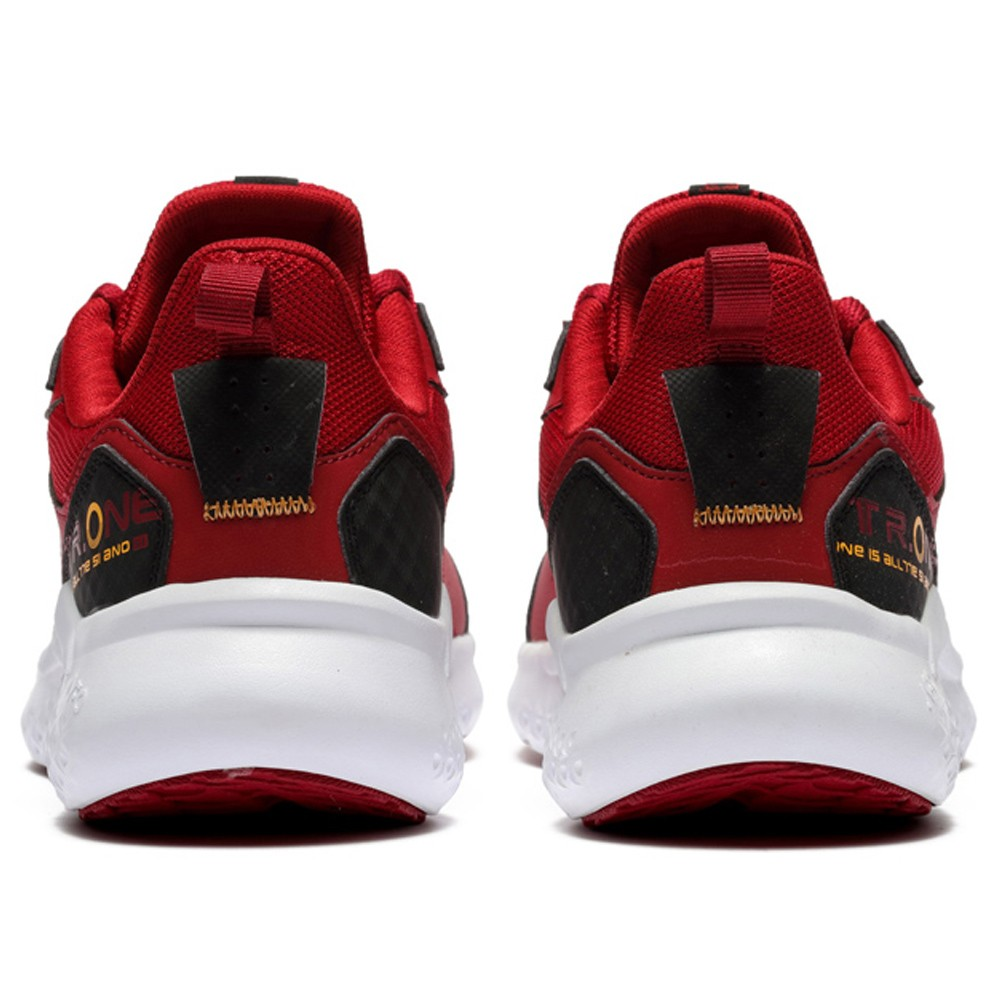 361 Degrees Relax Walk  Sports  Shoes For Men Red, Size 42