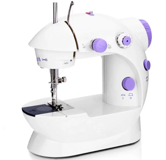 2 in 1 Bundle Pack Mini Sewing Machine And Handy Stitch Sewing Machine