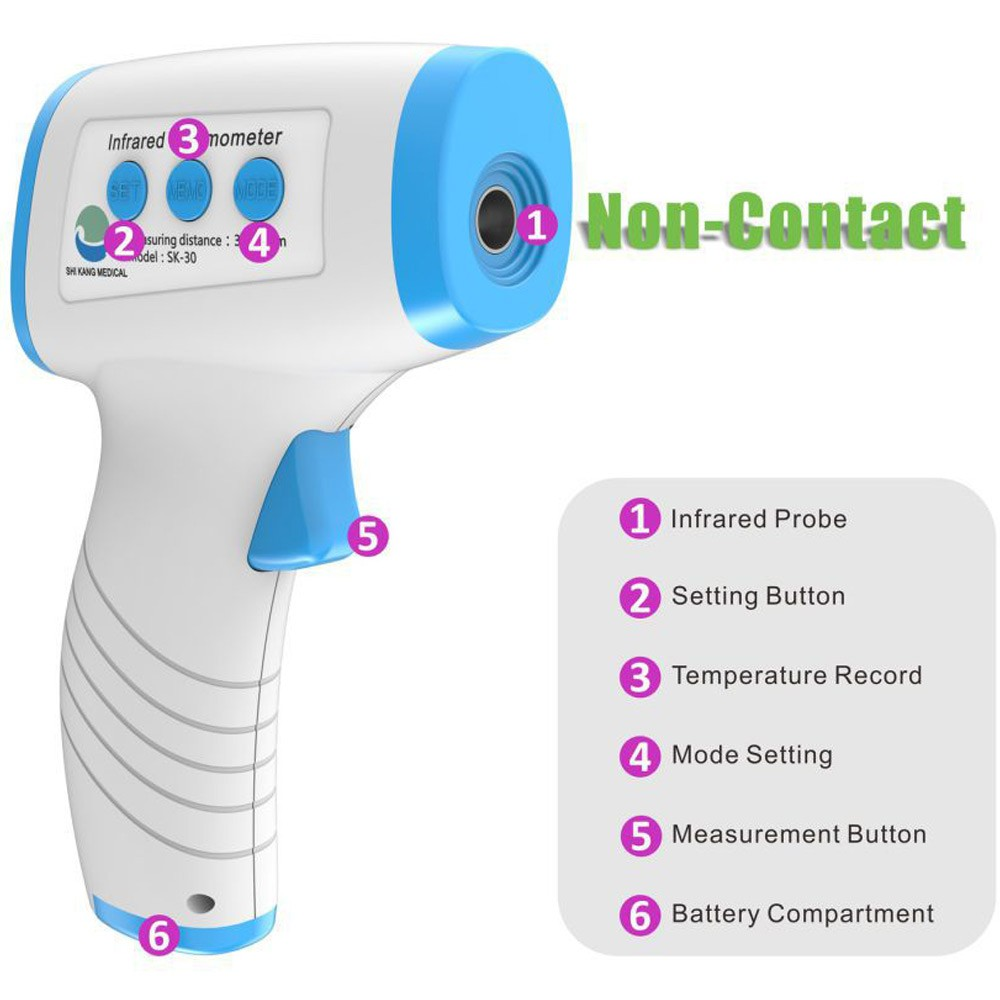 Non-Contact Body Infrared Thermometer SK-30