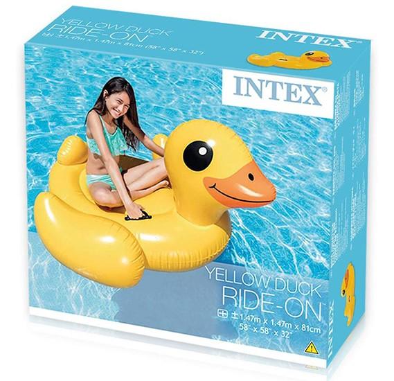 Intex Duck Ride On Yellow - 57556