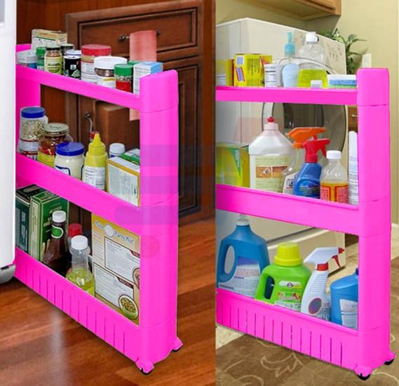 Buy Slim Pantry Cabinet Beside Fridge Spice Rack Online Dubai Uae
