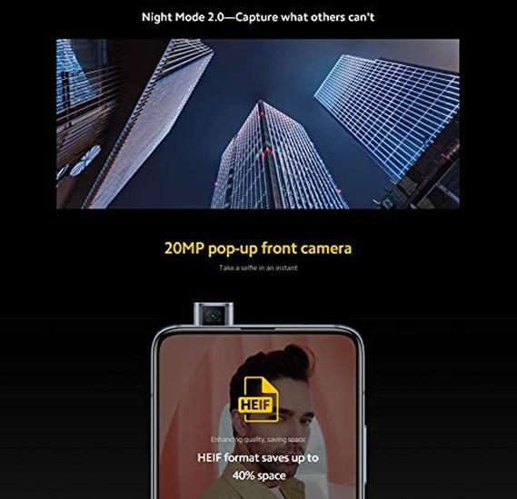 Xiaomi Poco F2 Pro Dual Sim 8GB RAM 256GB Storage 5G, White