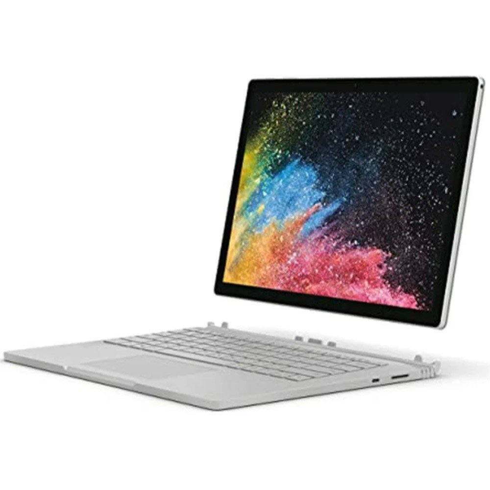 Microsoft Surface Book 2, 13.5 Inch Full HD, Core i7 Processor, 8GB RAM, 256GB SSD, Integrated Graphics, Windows 10 Professional, Gray