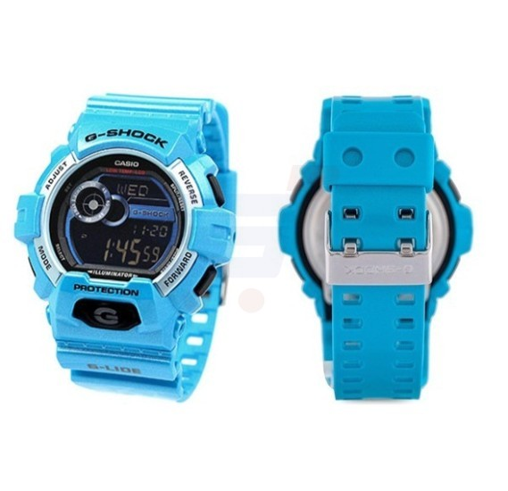 Casio G-Shock Resin Band Watch For Men - GLS-8900-2D