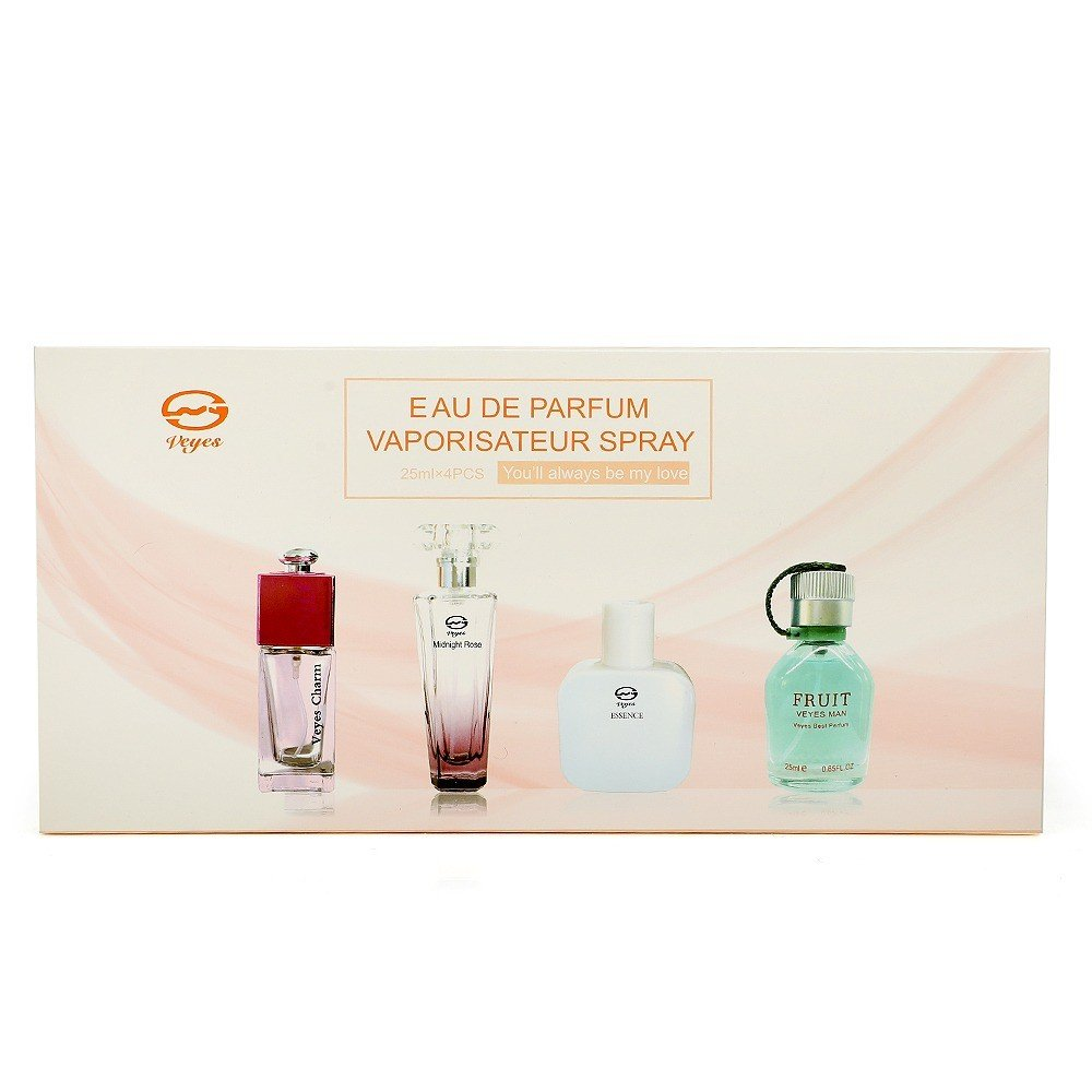 Veyes You Will always be My love Perfume gift set, 25ml x 4 Piece, PCP02