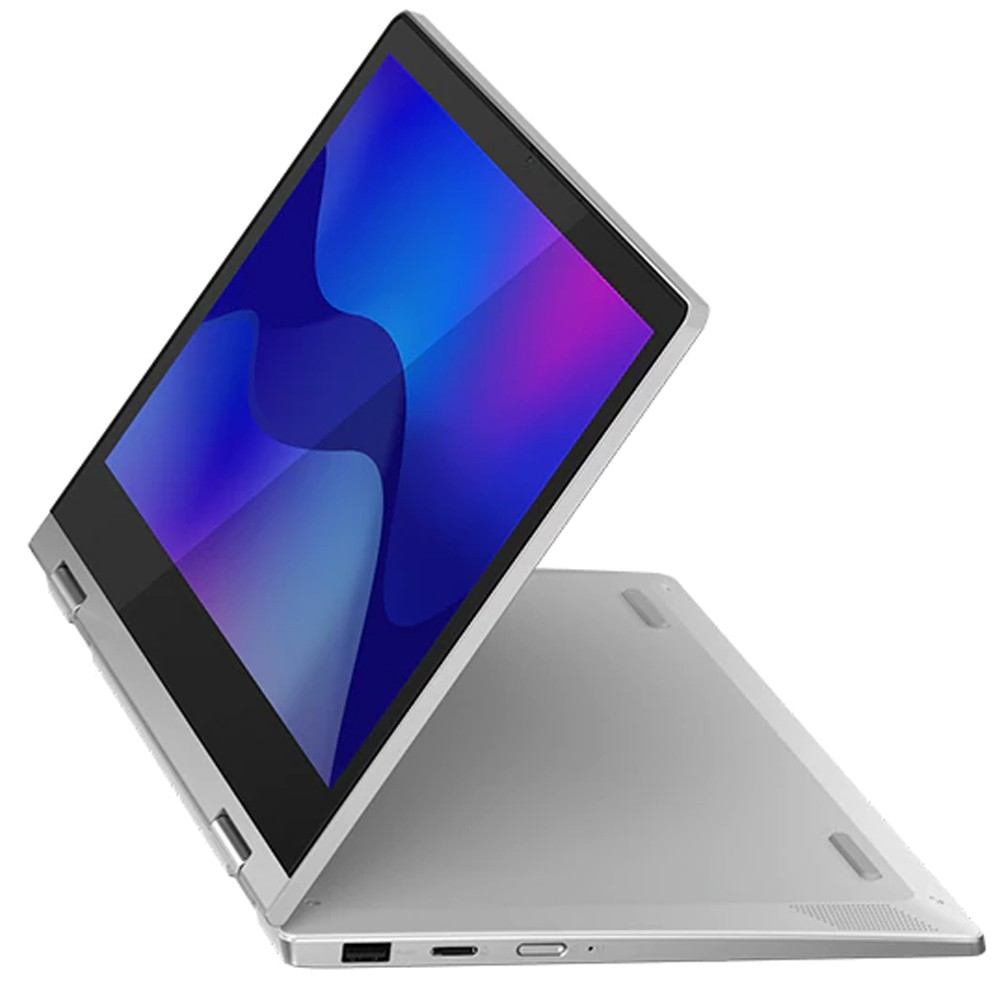 Lenovo IdeaPad Flex 3 Notebook 11.6 inch Touch Display Intel Celeron Processor 4GB RAM 128GB SSD Storage Integrated Intel UHD Graphics Win10, Blue