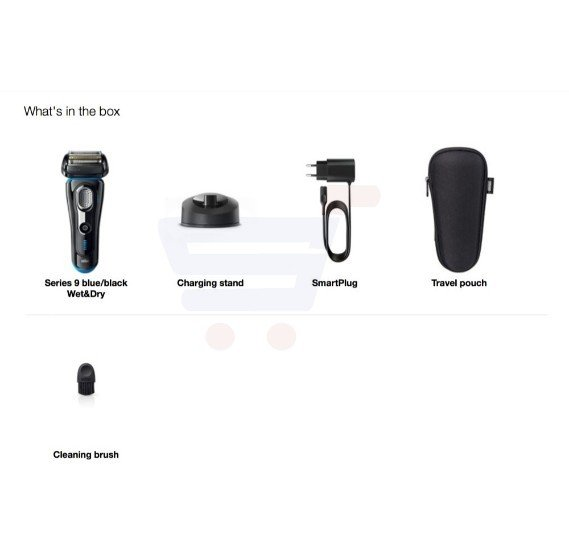 Braun Electric Wet & Dry Foil Shaver - 9240