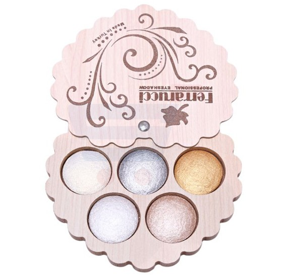 Ferrarucci 5 Color Eye Shadow 110g, 15