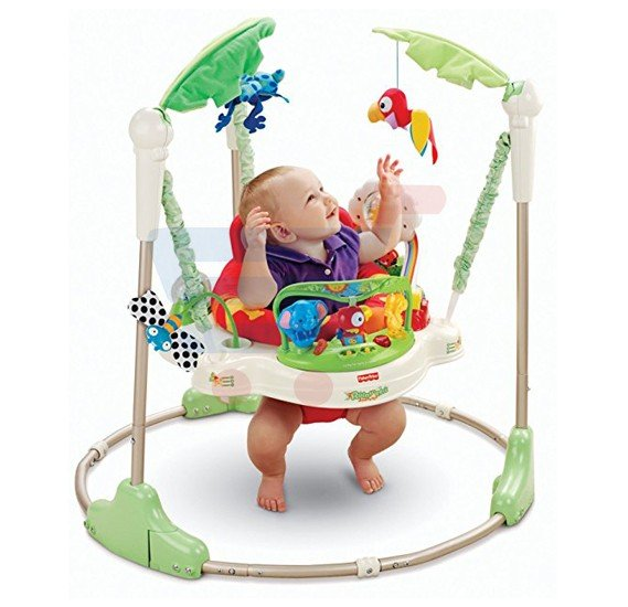 Fisher Price Rainforest Jumperoo for Baby