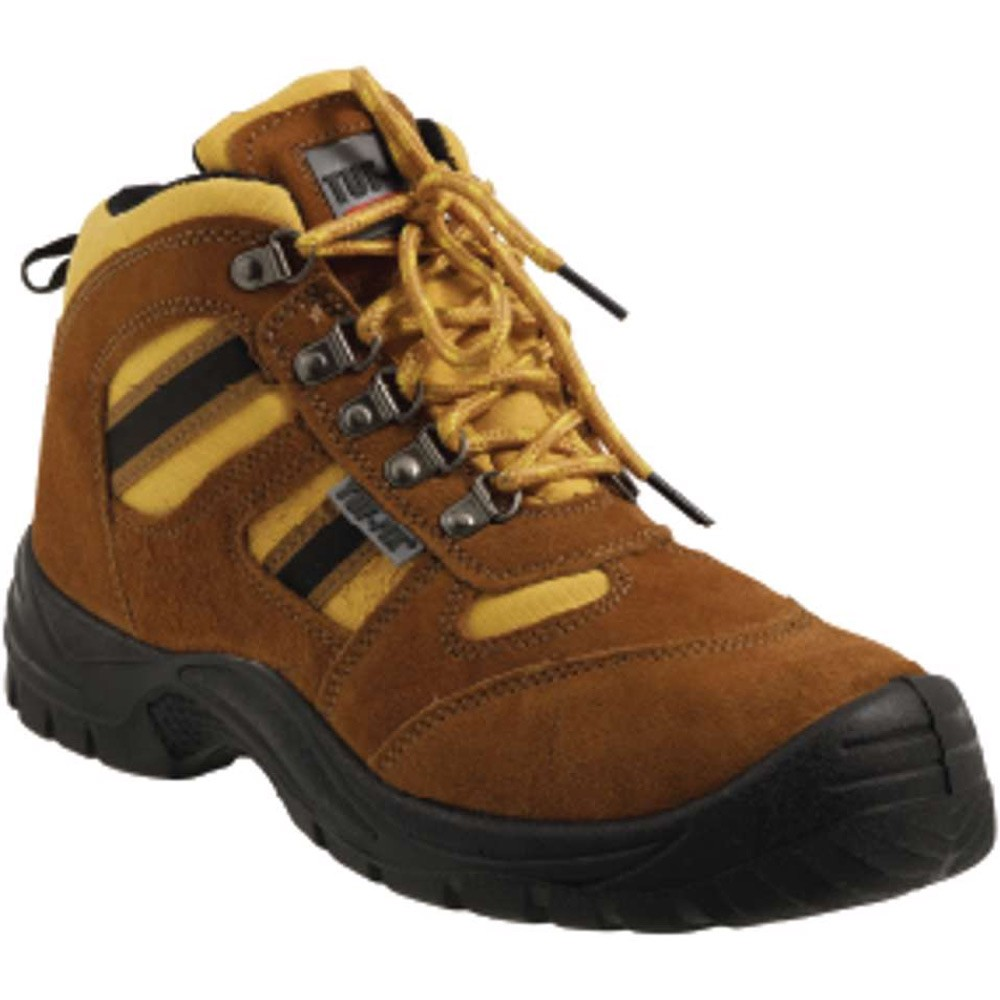 Tuf-Fix High Ankle Safety Steel Toe and Sole Shoes Stout Series