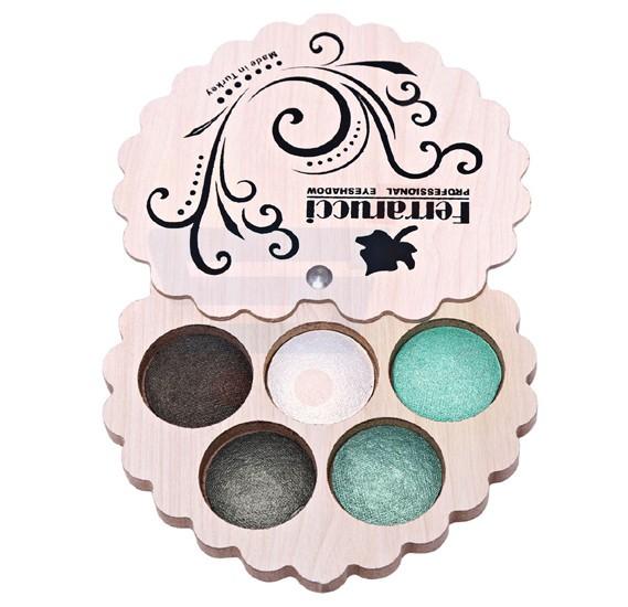 Ferrarucci 5 Color Eye Shadow 110g, 4