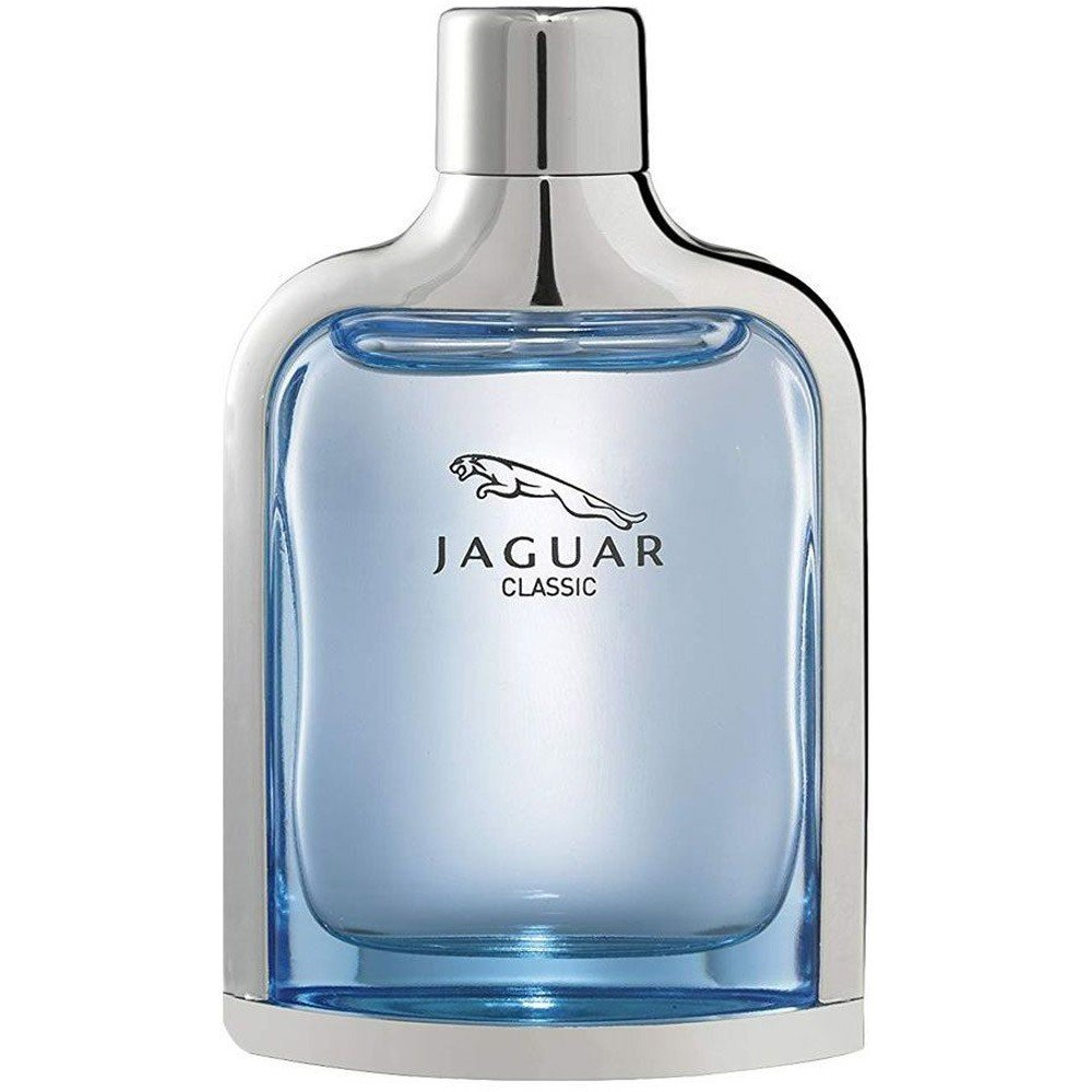 2 In 1 Jaguar Classic Blue Edt 100ml For Men And Braun Mobile Shaver, M90