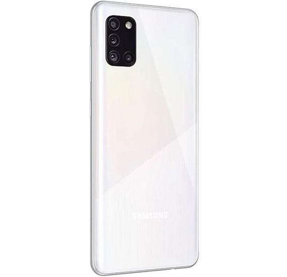 Samsung Galaxy A31 Dual SIM 4GB RAM 128GB 4G LTE- Prism Crush White