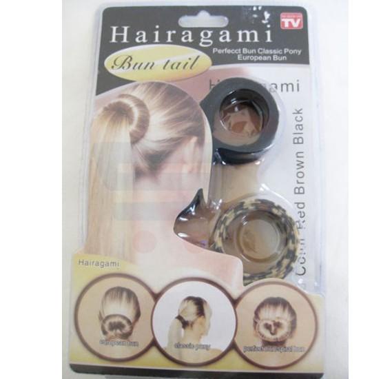 Hairagami Bun and Pony Tail Creator Set