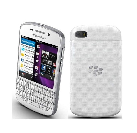 Blackberry Q10 16 GB 4G, White, Q10