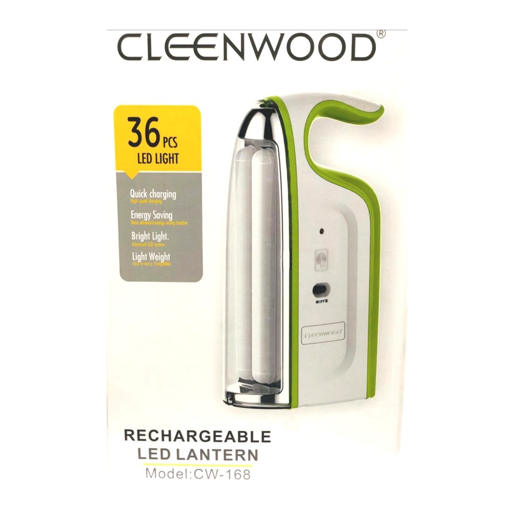 CleenWood Rechargeable LED Lantern 36pcs LED light, CW-167
