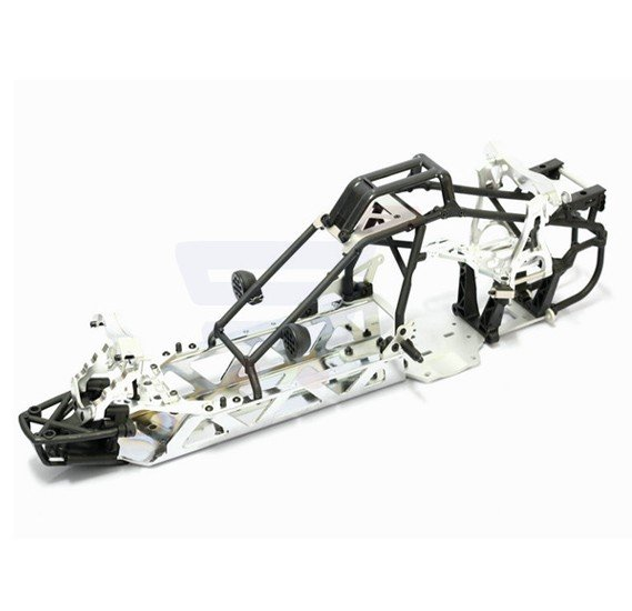King Motor Ex Silver RC Car - KM 2.0