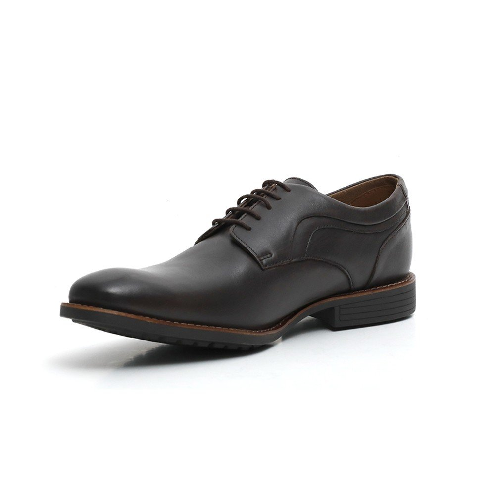 Hush Puppies Mens Formal Shoes Dark Brown Leather, HM01938-201