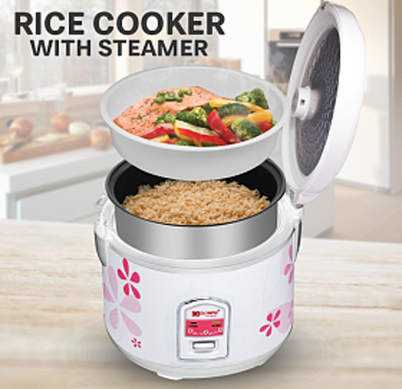 Olympia Rice Cooker With Steamer 2.0 liter, OE-500