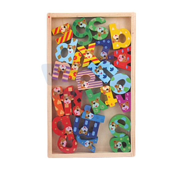 Learning Alphabets Wooden Toys 879-1