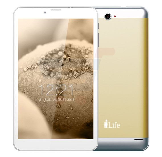 i-life ITELL K4800G Tablet, 8 Inch Display, 1GB RAM, 16GB Storage, Dual Camera, Dual SIM, 4G, Android OS - Gold