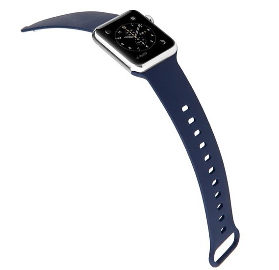 Promate Rarity-38ML Sport Apple Watch Band 38mm/40mm, Blue