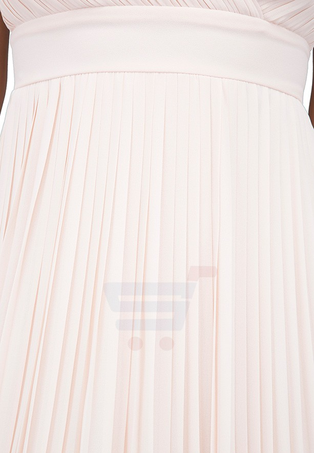 TFNC London Esme Maxi Evening Dress Nude - ELBZ 6330 - XXL