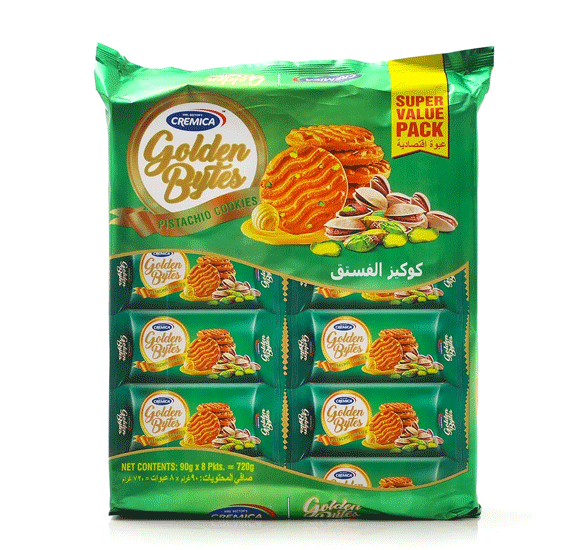 3 IN 1 Tea time Bundle Offer , Lays Flamin Hot Chips 80gm With Cremica Golden Bytes Butter Pisthachio 8x90gm And Nescafe 3 in 1 Intenso Instant Coffee Mix Sachet 20gm