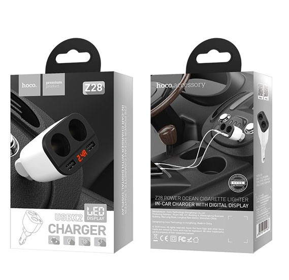 Hoco Z28 Power Lighter Car Charger HOCO