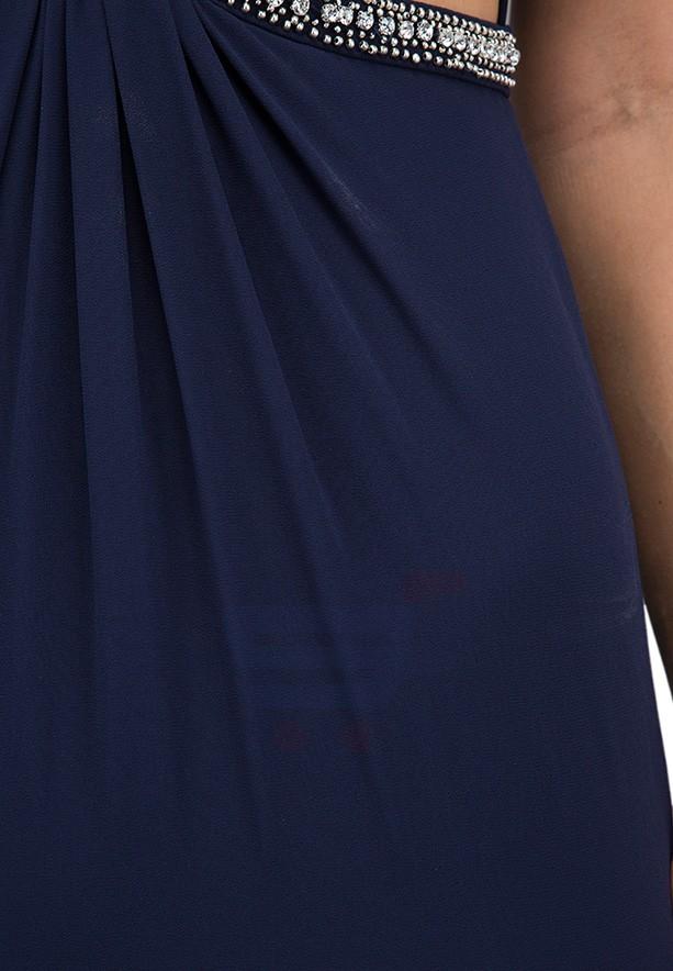TFNC London Banji Maxi Evening Dress Navy - CTT 27070 - M