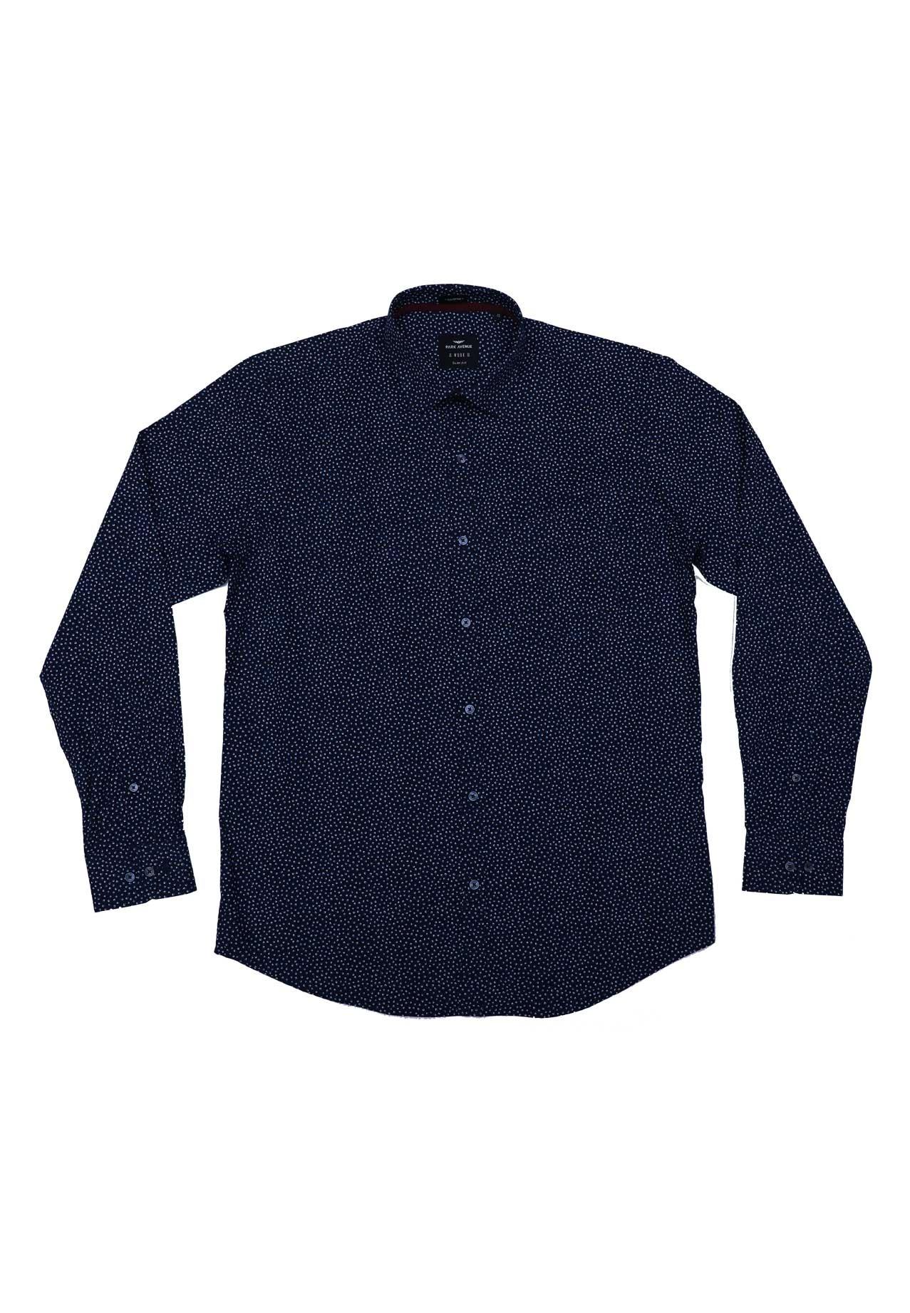 Park Avenue PMSY12376-B8 Mens Shirt, Size 44
