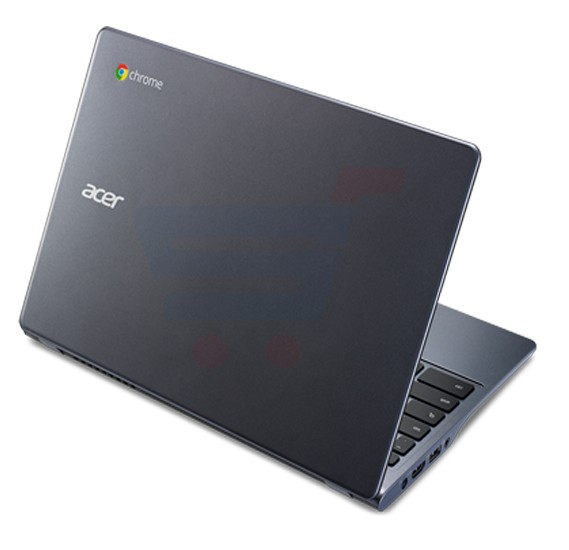 Acer Chromebook C720 Laptop, Intel 2955U Processor, 11.6 Inch Screen, 2GB RAM, 16GB Storage, Chrome OS