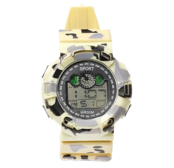 5 set Digital Analogue Sport watch WR30M, Alg008