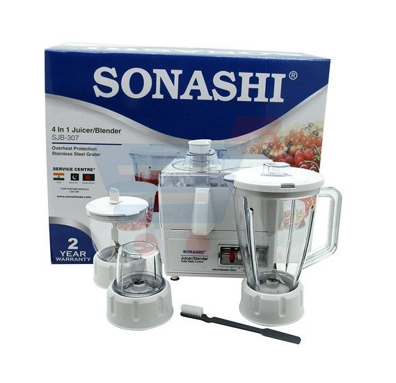 Sonashi  4 In 1 Juicer,Blender SJB-307
