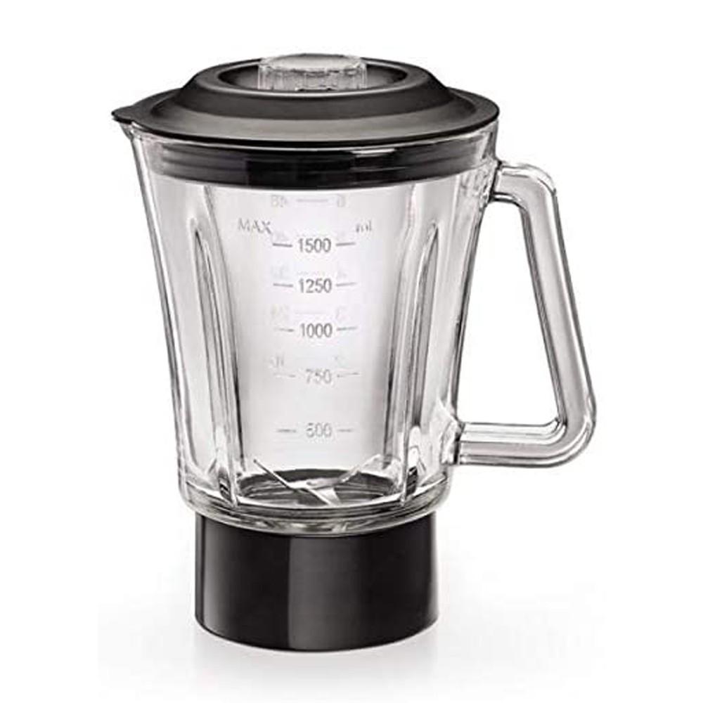 Black & Decker 600W Glass Blender with 2 Mills, BX600G-B5