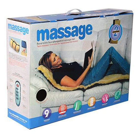 Full Body Massage Mat, 9 Motor Heats