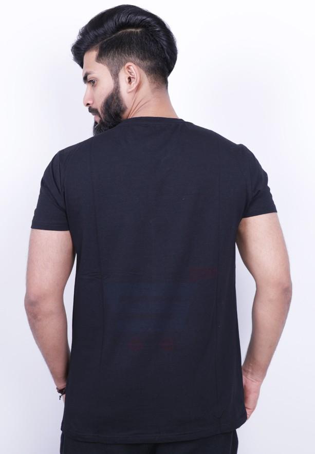 Kenyos Mens Tshirt Black - KAABE14907 - M