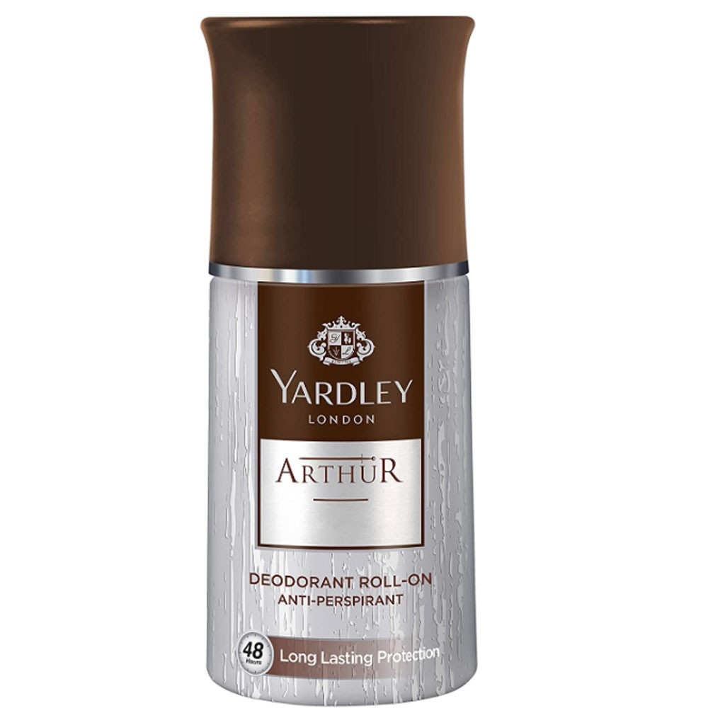 Yardley Arthur for Men, Classic Refreshing Scent, Official Scent, EDT 100ml + Body Spray 150 ml