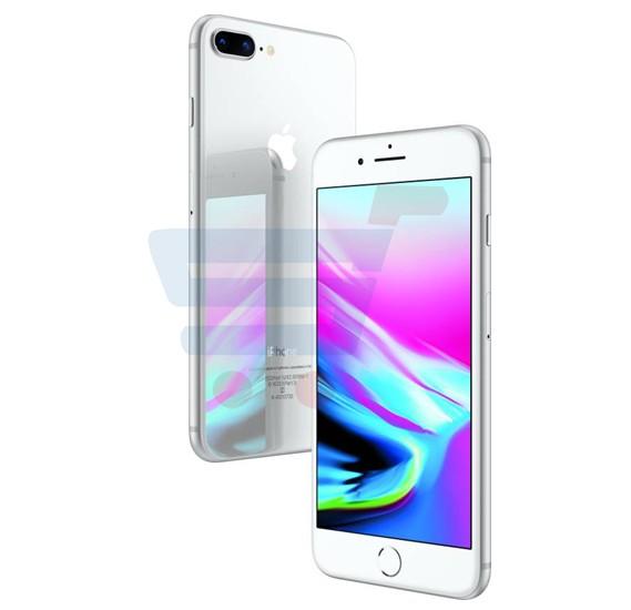 Apple iphone 8 Plus Smartphone, iOS11, 5.5 Inch HD Display, 3GB RAM, 256GB Storage, Dual Camera, Wifi- Silver